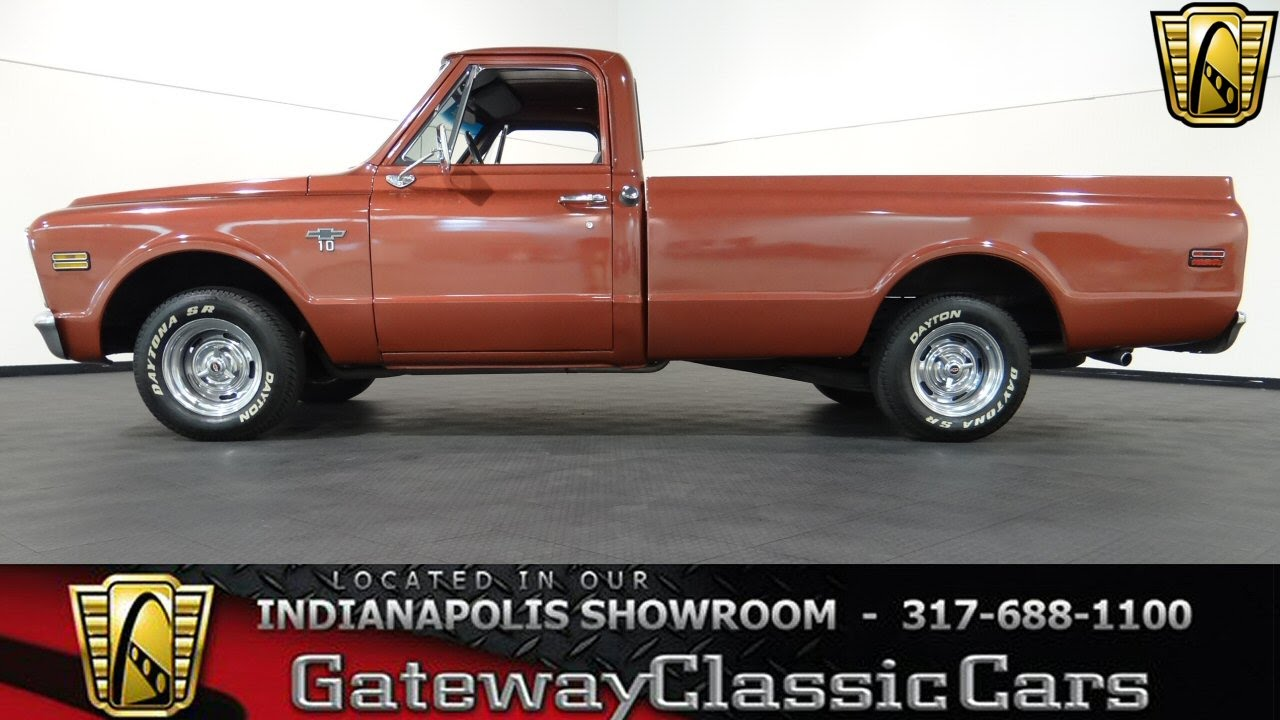 1968 Chevrolet C10 Truck #350-ndy - Gateway Classic Cars ...