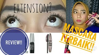 MASCARA TERBAIK MAYBELLINE (review)