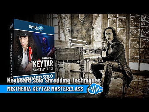 Mistheria Keytar Masterclass - Keyboard Solo Shredding Tecniques ( Synthonia - Master - Lessons )