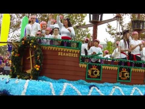 Orlando Florida Citrus Parade 2013: Pace Brantley School - Orlando FL