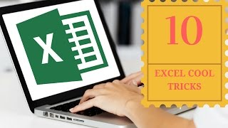 10 Excel Cool Tricks | You Should Use! | 2017