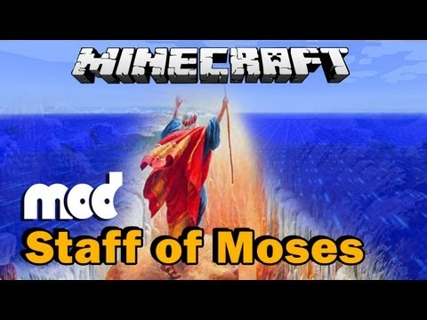 Minecraft Staff of Moses Mod Showcase