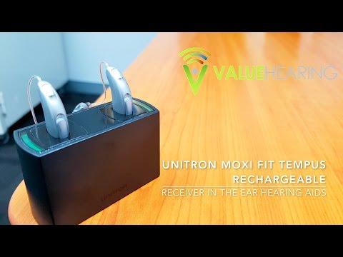 Unitron Moxi Fit Tempus Rechargeable - Overview