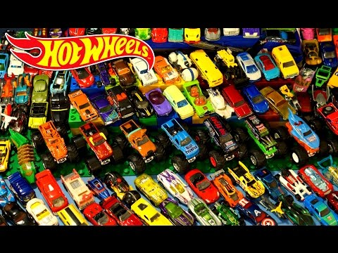Хот Вилс - Коллекция. Игрушки Машинки для Мальчиков на русском. Hot Wheels Huge Collection