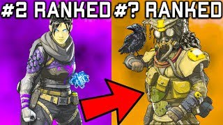 RANKING EVERY LEGEND IN APEX LEGENDS FROM WORST TO BEST!