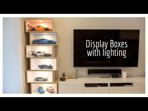 DIY | LEGO Display Boxes With Built In Lighting