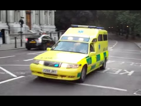 RARE Lifeline Medics & St John Ambulance transporting patients in London