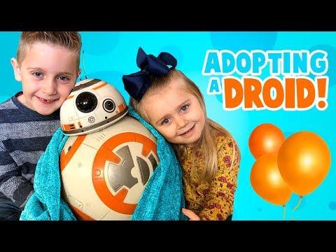 We're Adopting BB-8! Star Wars Hero Droid BB-8 by SpinMaster!