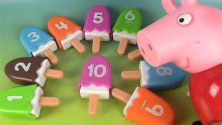 Apprendre les couleurs et les chiffres en s'amusant avec Peppa Pig streaming