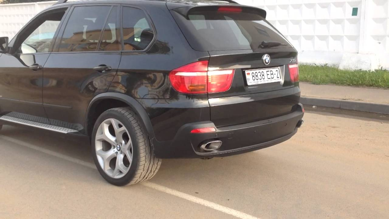 BMW X5 4 8i Exhaust sound AutoNewArt