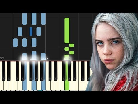 "Billie Eilish - ""Ocean Eyes"" Piano Tutorial - Chords - How To Play - Cover"