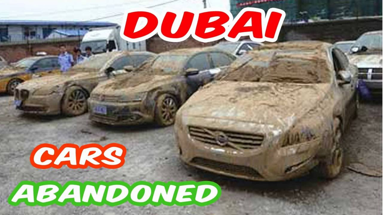 Latest Abandoned Cars In Dubai Forgotten Deserted Expensive