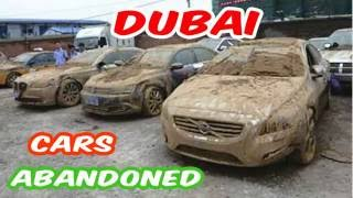 Latest Abandoned Cars In Dubai - Forgotten - Deserted - Expensive - Airport - Buy - Exotic - Auction