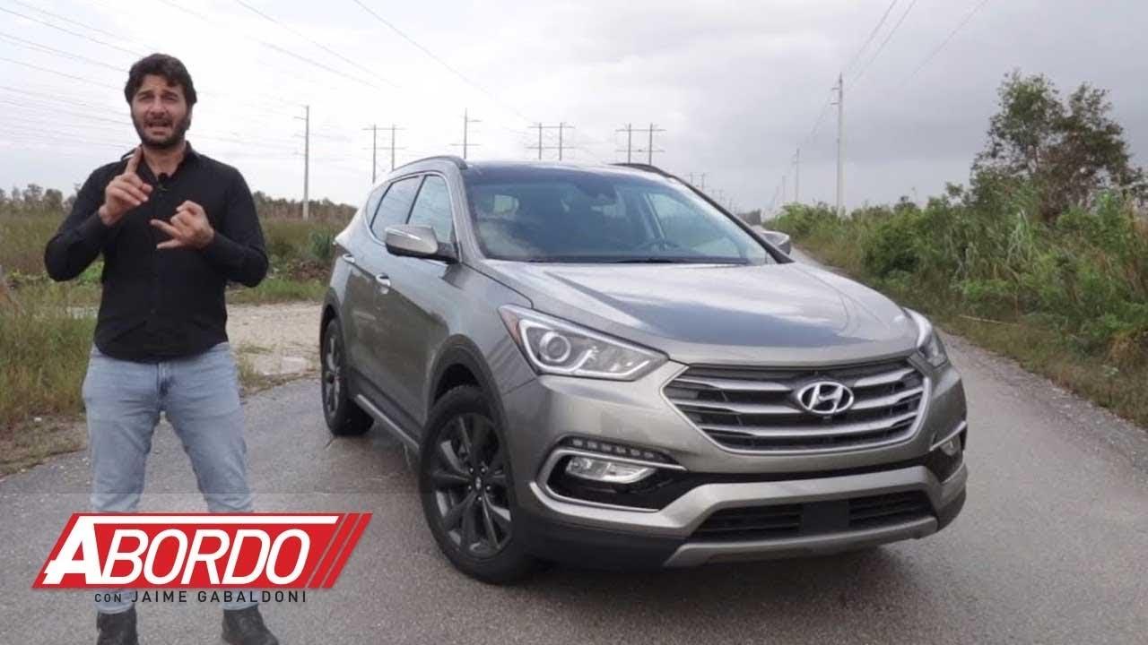 Hyundai Santa Fe Sport 2018 - Prueba A Bordo Completa - YouTube
