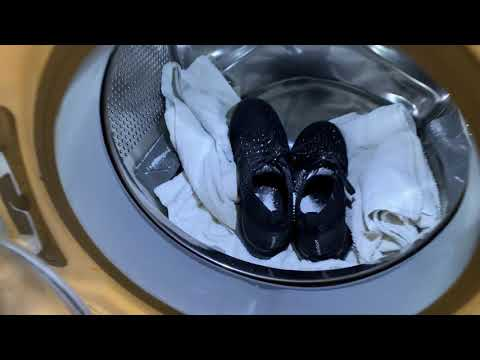 Washing Nike Air Vapormax 3 in Washing Machine! (Like New)
