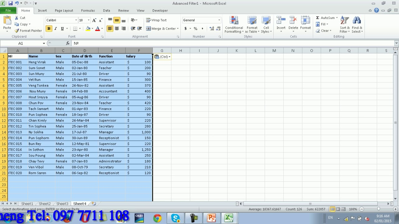 advantage of database over excel and word Excel works with almost every other piece of software in microsoft office, excel spreadsheets can be easily added to word documents and powerpoint presentations to create more visually dynamic reports or presentations.