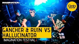 Скачать Hallucinator VS Gancher Ruin Imagination Festival 2014 DnBPortal Com