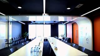 Interior Design In Green Horizon Office Building For Infosys Polska