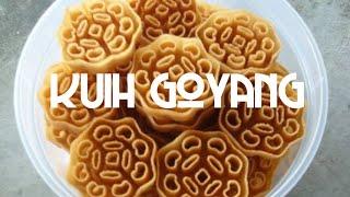 Kuih Goyang/loyang/ros