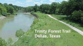 Trinity Forest Trail Dallas Texas