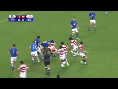 Giappone VS Italia - Highlights