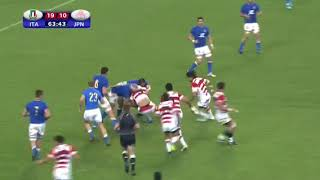 Giappone VS Italia - Highlights