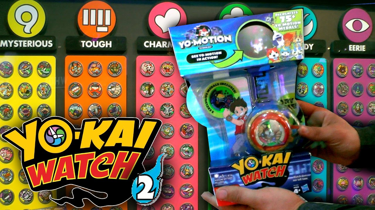 yo kai watch series season 2 yo motion watch medals plushies