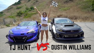 Supercharged BRZ vs. Turbo WRX Drag Race(Official Race Video)