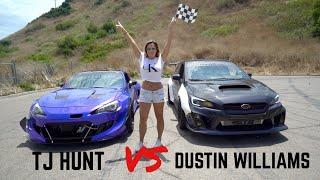 Supercharged BRZ vs. Turbo WRX Drag Race(Official Race Video)