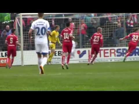 Wacker 90 Nordhausen vs. FC Rot-Weiß Erfurt, Viertelfinale im Thüringen Pokal 2014