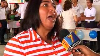 ECUADOR TV-  FERIA SEGURIDAD CIUDADANA COLEGIOS GYQ