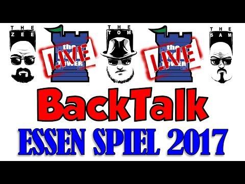BackTalk LIVE: Essen Spiel 2017