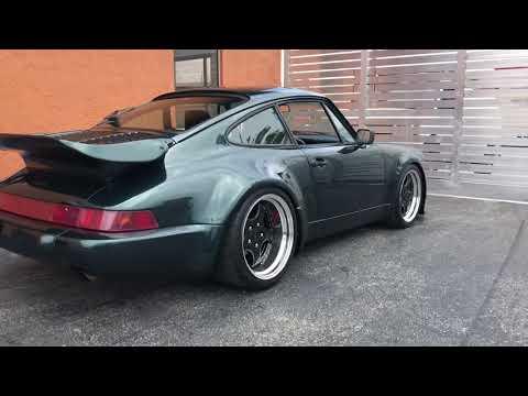 1990 Porsche 911 Turbo 964 C4 Widebody For Sale Youtube