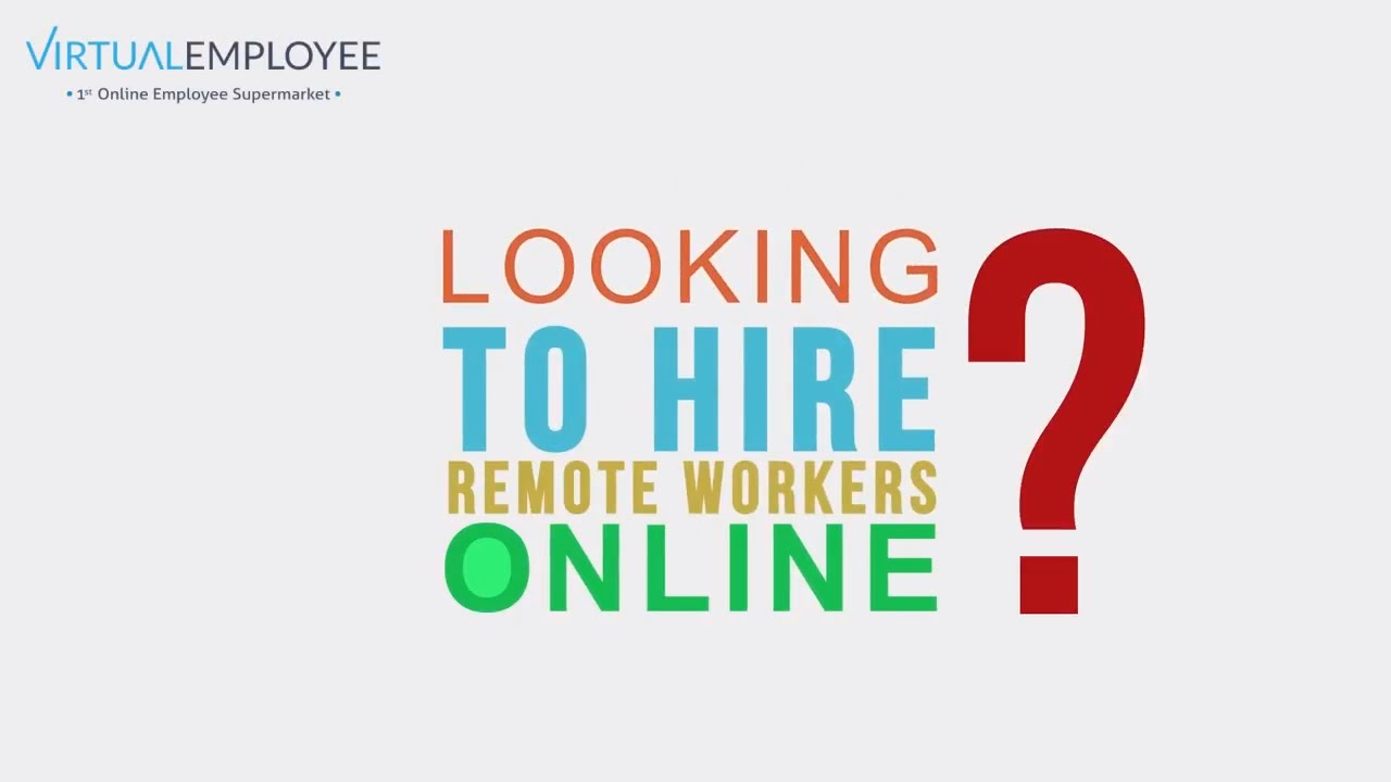 Biggest Online Marketplace for Remote Staffing Services in India