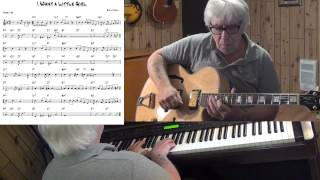 I Want a Little Girl - Jazz guitar & piano cover ( Billy Moll ) Yvan Jacques