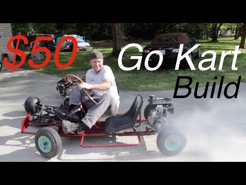 The $50 Go Kart Build!