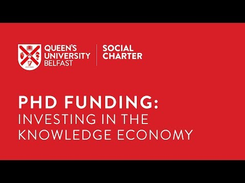 PhD Funding: Investing in the Knowledge Economy