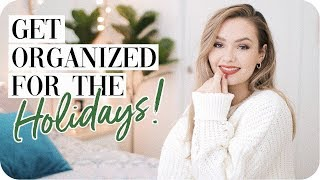 How to get Organized for the Holidays!