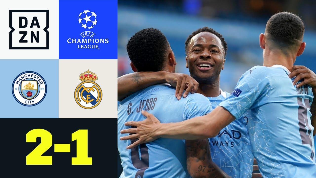 Varane patzt doppelt - Citizens jubeln: Man City - Real Madrid 2:1 | UEFA Champions League | DAZN