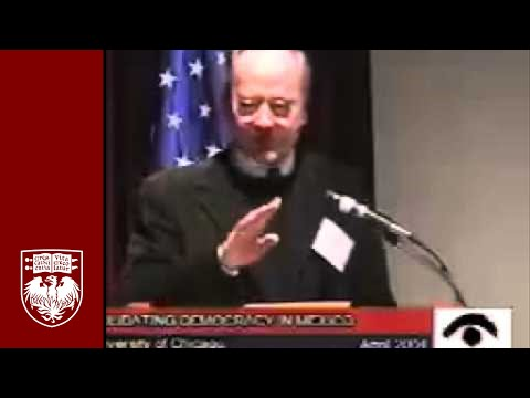 Conference: Consolidating Democracy in Mexico- Panel