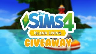 THE SIMS 4 ISLAND LIVING GIVEAWAY