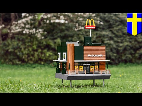McDonald's McHives dijual di Swedia - TomoNews