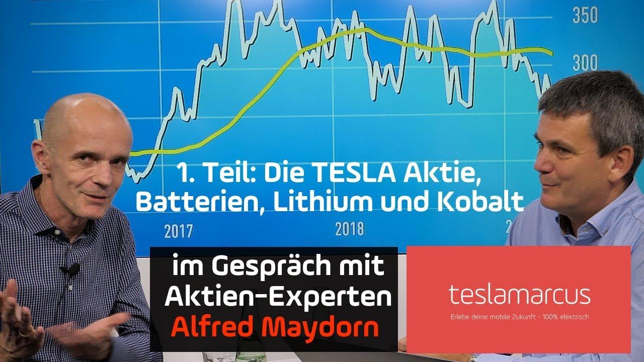 Investieren In Aktien Tesla Lithium Kobalt Batteriehersteller Alfred Maydorn Gibt Antworten