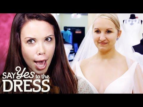 Entourage Shocked By Bride's Beautiful Dress Choice   Say Yes To The Dress Atlanta