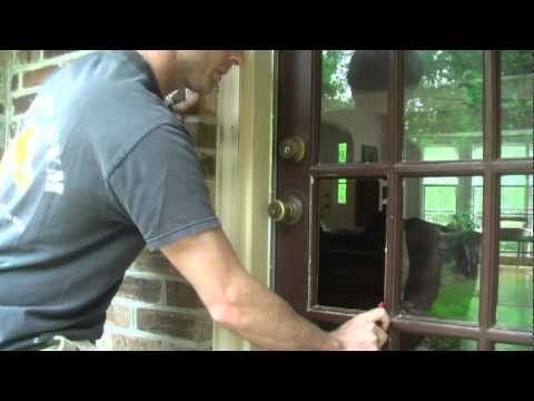 How to Replace Window Pane With Wood Molding.mpg