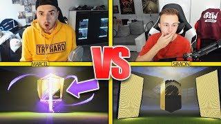 FIFA 18: HERO im PACK BUILDER BATTLE | GamerBrother vs MarcelScorpion
