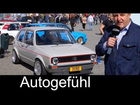VW Golf GTI customized! Meeting FEATURE @ Volkswagen GTI Treffen Wolfsburg - Autogefühl - Dauer: 14 Minuten