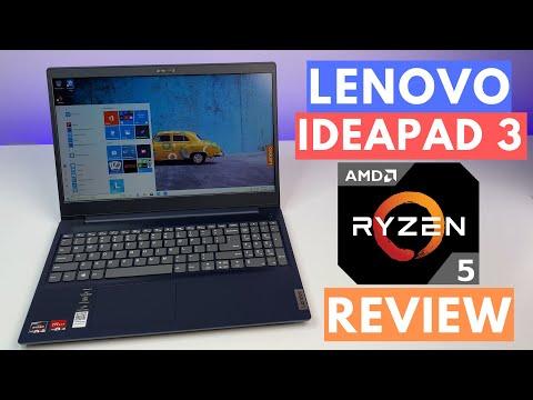 Lenovo Ideapad 3 Laptop Review 2020 Amd Ryzen 5 4500u Youtube