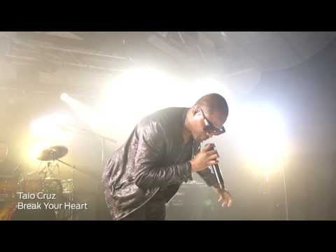 Taio Cruz - iHeart Radio - Break Your Heart (Live)