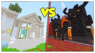 BASE BUONA CONTRO BASE CATTIVA! - Minecraft ITA